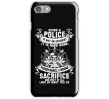 police officer kids police officer mother police officer cousin police iPhone Case/Skin