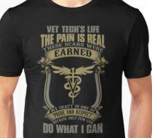 Vet T Shirts Funny vet tech superpower vet technician caduceus Veterin Unisex T-Shirt