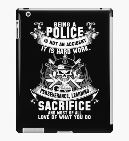 police officer kids police officer mother police officer cousin police iPad Case/Skin