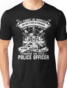police officer dad police officer baby clothes police officer baby pol Unisex T-Shirt