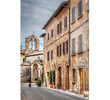 Toscana Bell Tower Photographic Print
