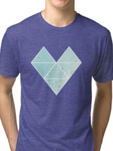 Free Birds in Blue Sky Tri-blend T-Shirt
