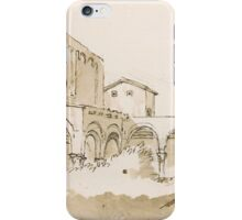 Giovanni Battista Tiepolo Church Facade with Arcaded Porch iPhone Case/Skin