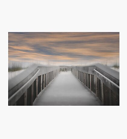 Beach Boardwalk Photographic Print