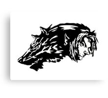 Zelda Twilight Princess Wolf Link Canvas Print