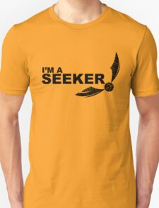 I'm a Seeker - Black ink Unisex T-Shirt