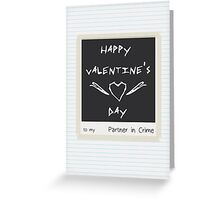 Partner in Crime - Card Simple Greeting Card