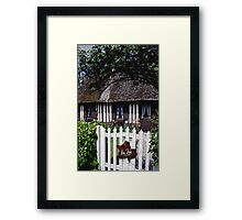 Paysages Normandie LOVE  landscapes 20 (c)(h) canon eos 5 by Olao-Olavia / Okaio Créations   1985 Framed Print
