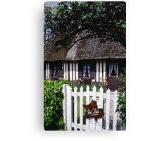 Paysages Normandie LOVE  landscapes 20 (c)(h) canon eos 5 by Olao-Olavia / Okaio Créations   1985 Canvas Print