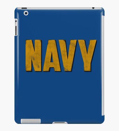 Navy iPad Case/Skin