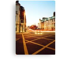 Dusk Traffic Canvas Print