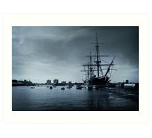 THE HMS Warrior 1860 Art Print