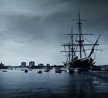 THE HMS Warrior 1860 by xiari