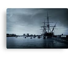 THE HMS Warrior 1860 Canvas Print
