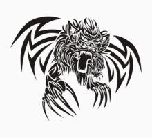 Wild animal tattoo Baby Tee