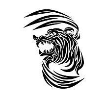 Wild animal tattoo Photographic Print