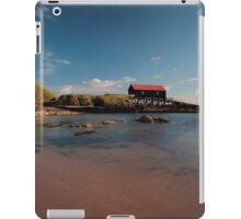 Dunaverty Bay Boathouse and Sea Captains Quarters iPad Case/Skin
