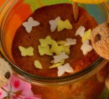 Bears with Birthday Cake Verrine  Sticker