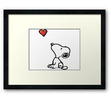 Snoopy Framed Print