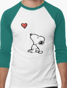 Snoopy Men's Baseball ¾ T-Shirt