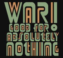War! Retro Kids Tee