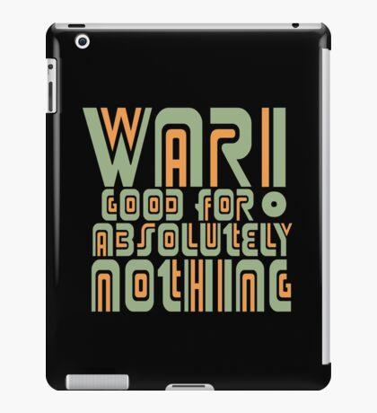 War! Retro iPad Case/Skin
