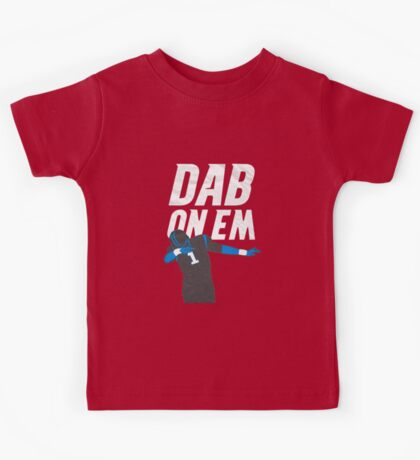 Dab On Em Carolina Panthers Kids Tee
