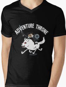 Adventure Throne Mens V-Neck T-Shirt