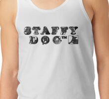 Staffy Dog Logo Tank Top