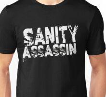 Sanity Assassin White Unisex T-Shirt