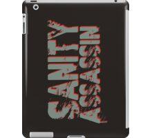 Sanity Assassin iPad Case/Skin