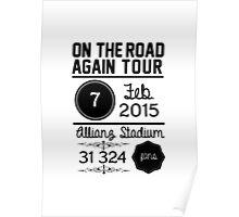 7th february - Allianz Stadium Poster