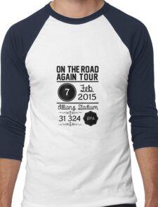 7th february - Allianz Stadium Men's Baseball ¾ T-Shirt