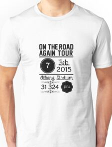 7th february - Allianz Stadium Unisex T-Shirt