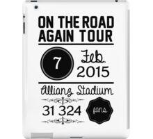 7th february - Allianz Stadium iPad Case/Skin