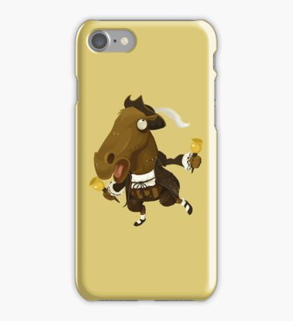 Weird Toy Colonial Horse Figure iPhone Case/Skin
