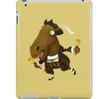 Weird Toy Colonial Horse Figure iPad Case/Skin