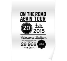 20th February - Patersons Stadium OTRA Poster