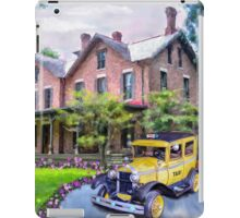 Rutherford B. Hayes Taxi iPad Case/Skin