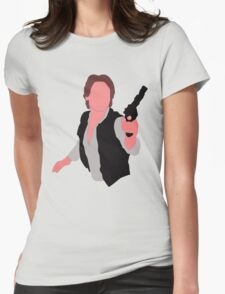 HAN SOLO Womens Fitted T-Shirt