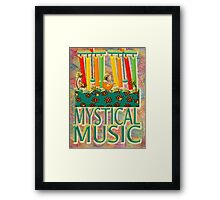 MYSTICAL MUSIC ON THE BREEZE Framed Print