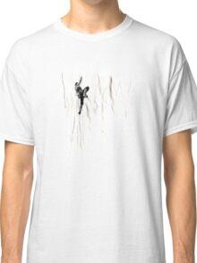 Woman Climbing a Wrinkle Classic T-Shirt