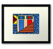 ABSTRACT 408 Framed Print