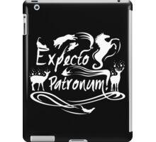 Expecto patronum deer iPad Case/Skin
