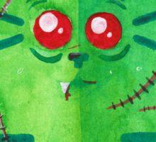 Zombie cat Sticker
