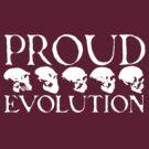 Proud Evolution White Skulls by himmstudios