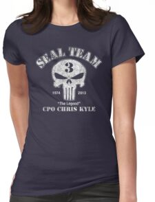 US Sniper Chris Kyle Womens Fitted T-Shirt