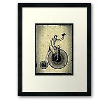 penny-farthing Framed Print