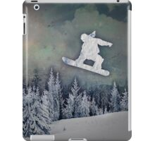 The Snowboarder iPad Case/Skin