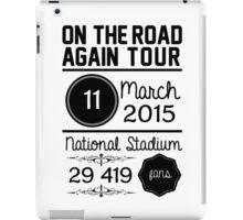 11th March - National Stadium OTRA iPad Case/Skin